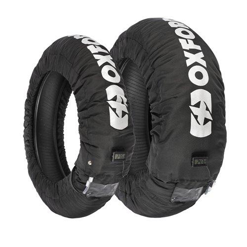 Oxford Tyre Warmers LCD 3 Setting EU 2 PIN PLUG (Pair)