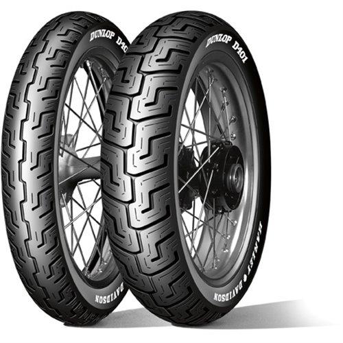 Dunlop D401 MWW 150/80B16 71H TL Re. Harley-Davidson (Medium Whitewall)
