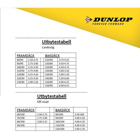Dunlop Tube 150/70-17 , 160/70-17 , 180/60-17 TR4