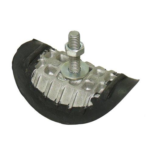 Rim lock, 1,85, Aluminium/Rubber