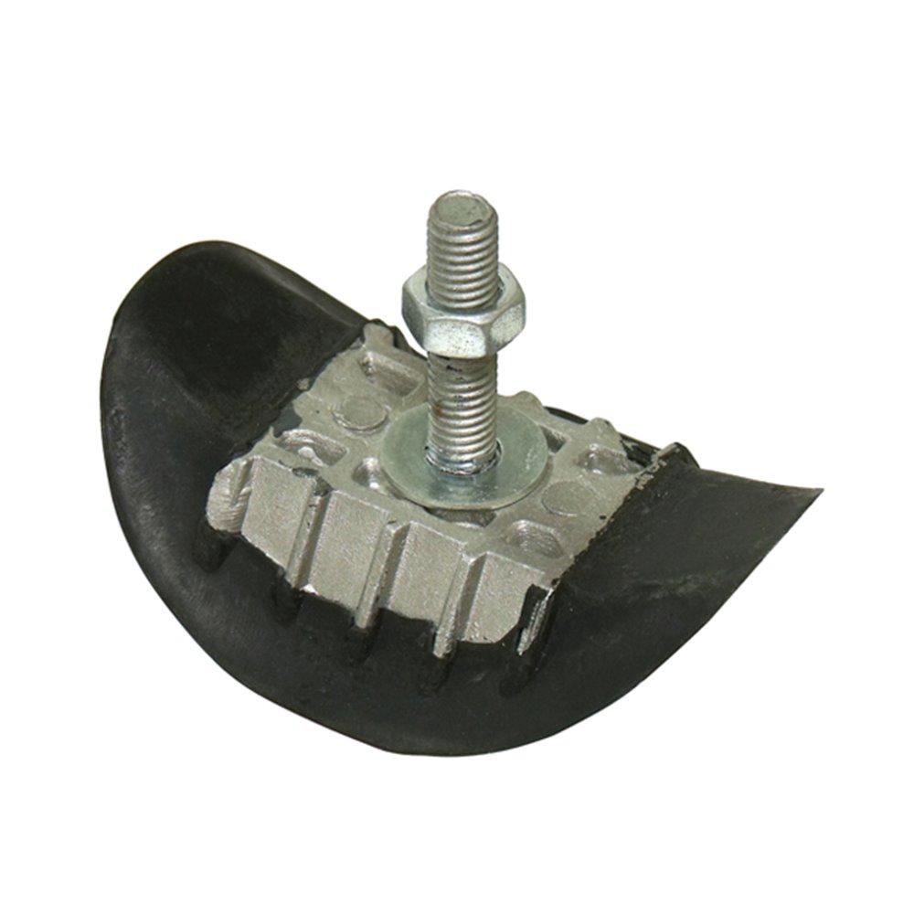 Rim lock, 1,60, Aluminium/Rubber