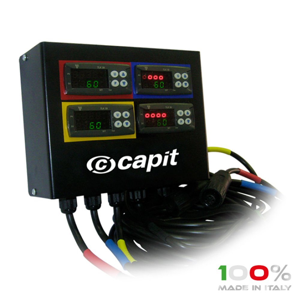 CAPIT Termocontroller for (LEO) 4 tyrewarmers