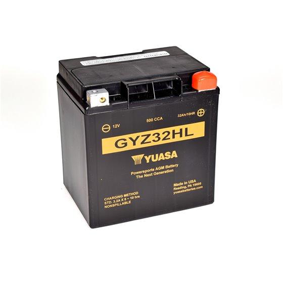 Yuasa battery, GYZ32HL (wc)
