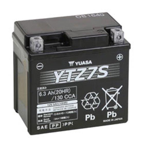 Yuasa battery, YTZ7S (wc)