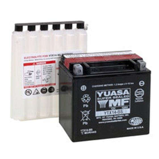 Yuasa battery, YTX14-BS (cp)