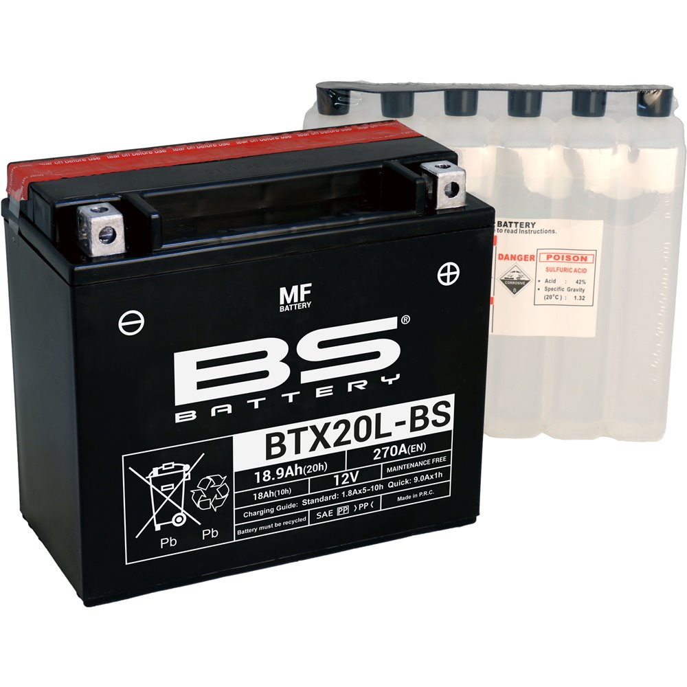 BS Battery  BTX20L-BS MF (cp) Maintenance Free