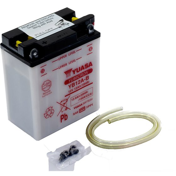 Yuasa battery, YB12A-B (cp)