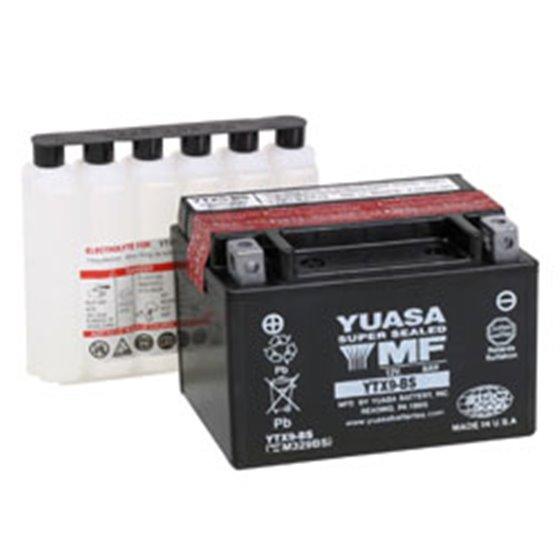 Yuasa battery, YTX9-BS (cp)