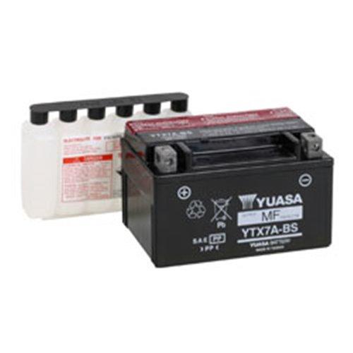 Yuasa battery, YTX7A-BS (cp)