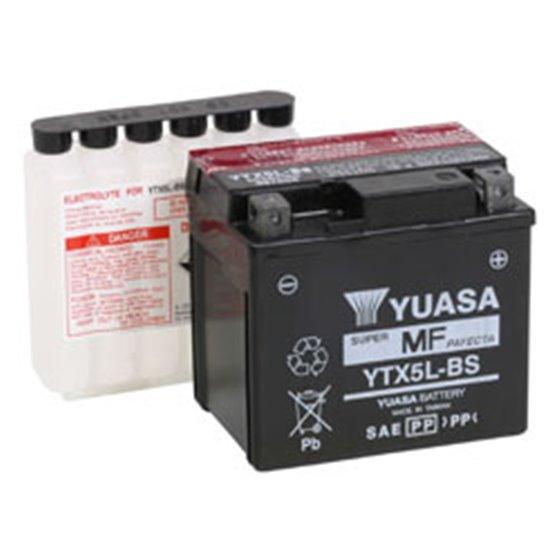 Yuasa battery, YTX5L-BS (cp)