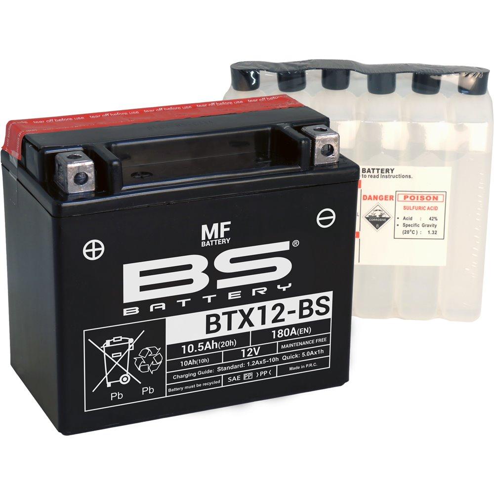 BS Battery  BTX12-BS MF (cp) Maintenance Free