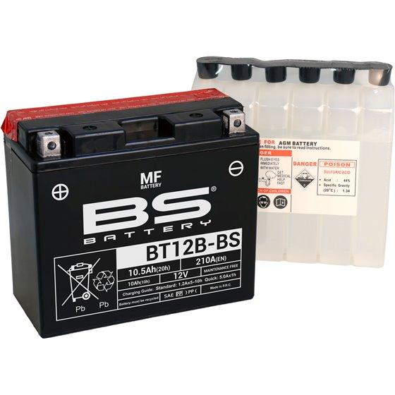 BS Battery  BT12B-BS MF (cp) Maintenance Free