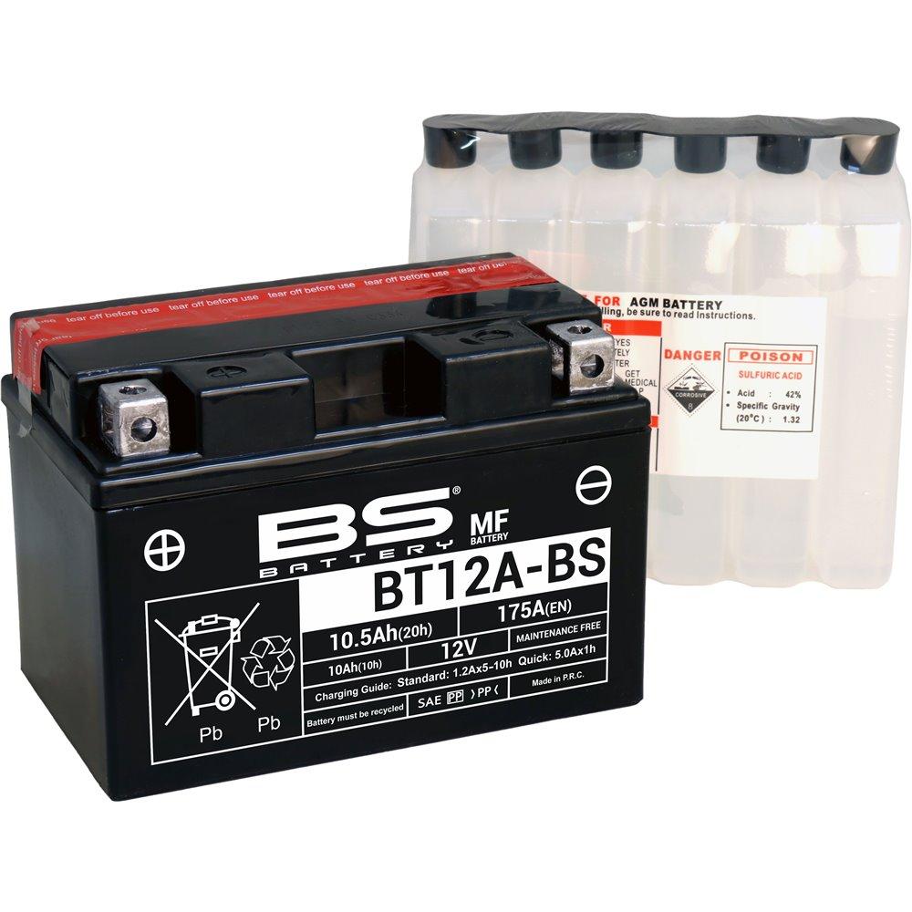 BS Battery  BT12A-BS MF (cp) Maintenance Free