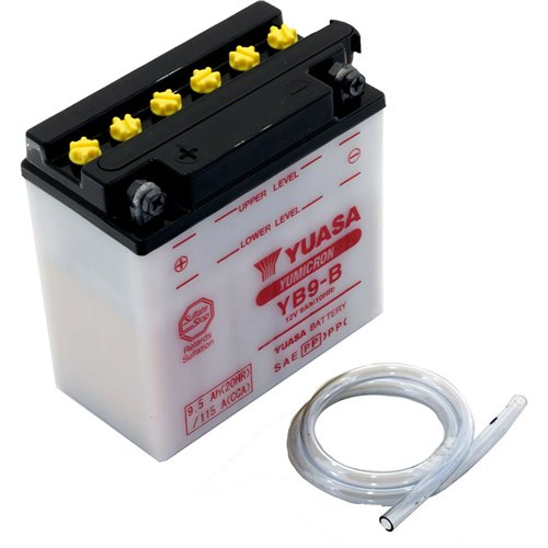 Yuasa battery, YB9-B (cp)
