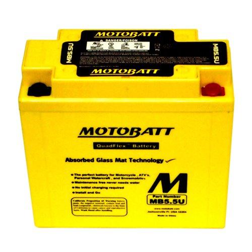 Motobatt battery, MB5.5U