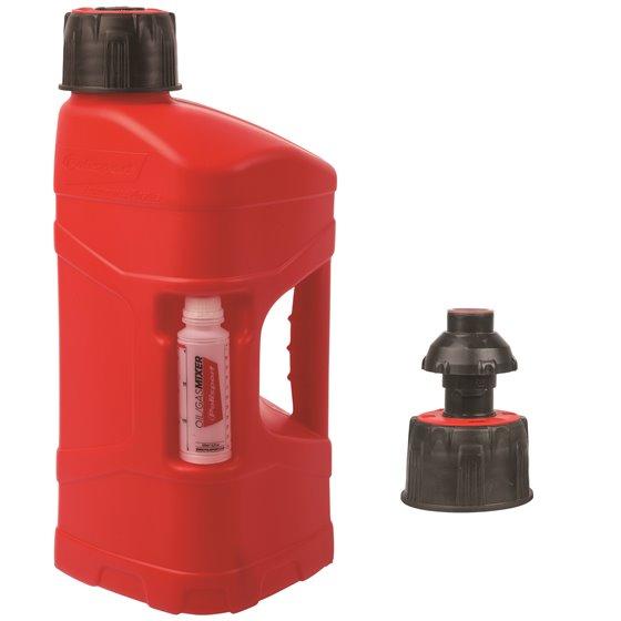 Polisport ProOctane 10 L with standard cap + 100ml mixer + quick fill valve