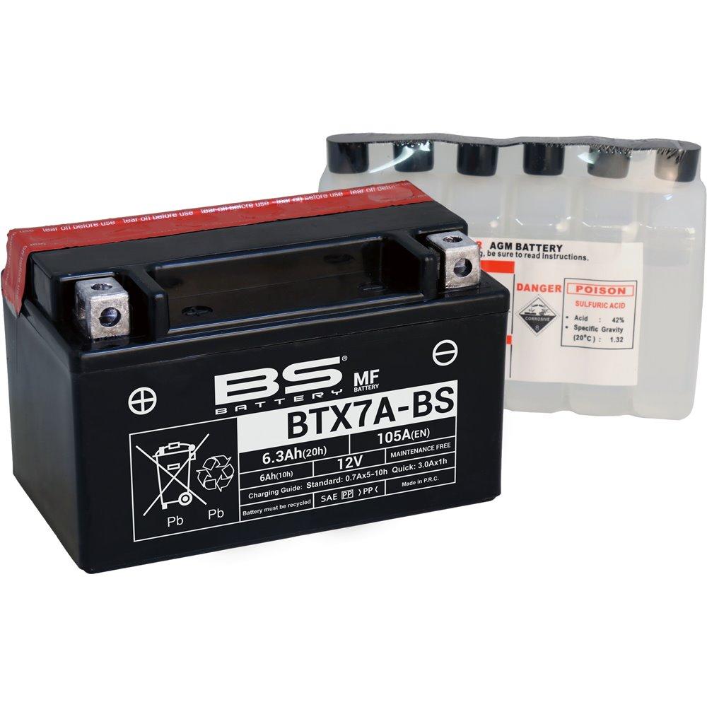 BS Battery  BTX7A-BS MF (cp) Maintenance Free