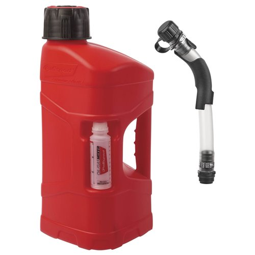 Polisport ProOctane 10 L with standard cap + 100ml mixer + Fill Hose with bender