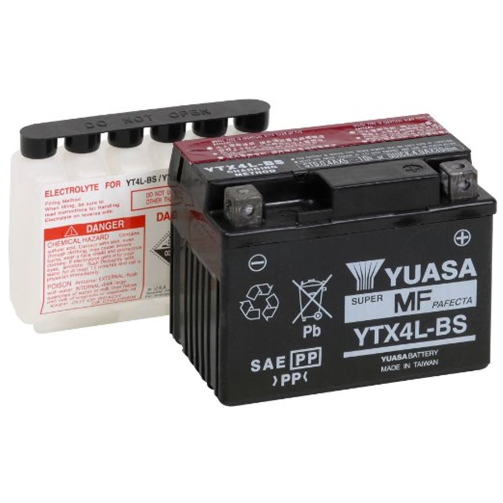 Yuasa battery, YTX4L-BS (cp)