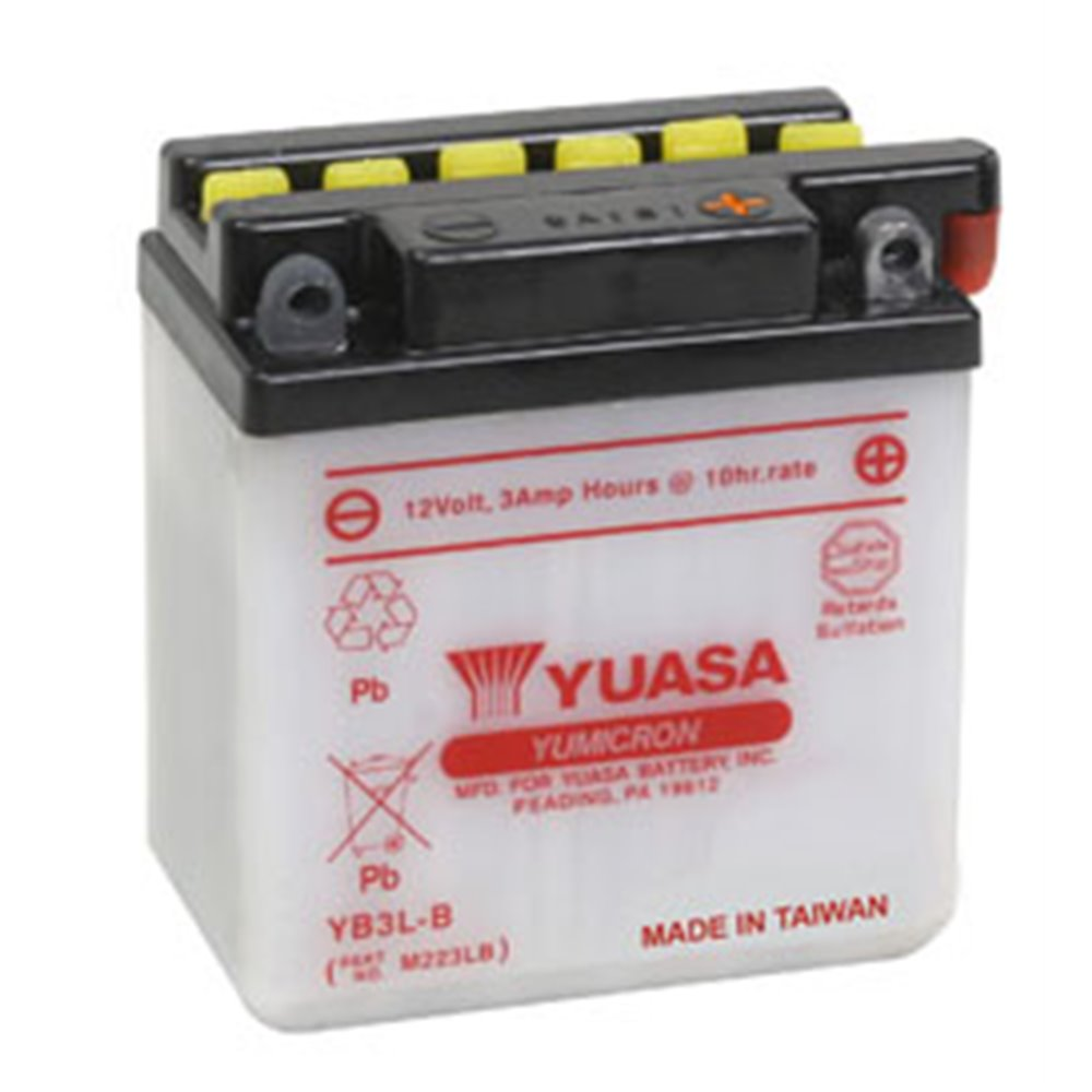 Yuasa battery, YB3L-B (cp)