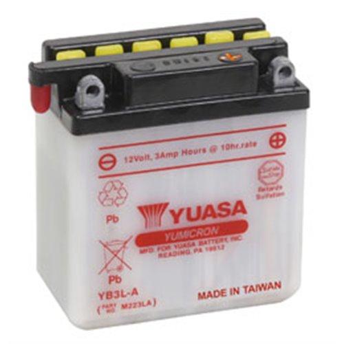 Yuasa battery, YB3L-A (dc)