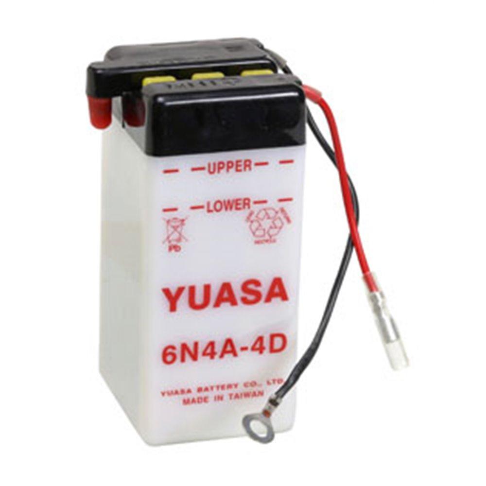 Yuasa battery, 6N4A-4D (dc)