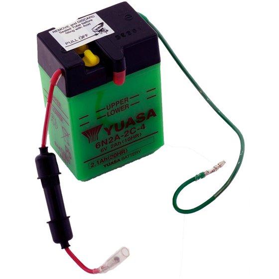 Yuasa battery, 6N2A-2C-4 (dc)