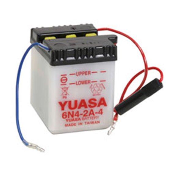 Yuasa battery, 6N4-2A (dc)