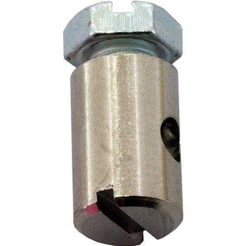 Fix Screw nipple, Ø 6,0mm , length 9,0mm , wire Ø 2,5mm , (10pcs)