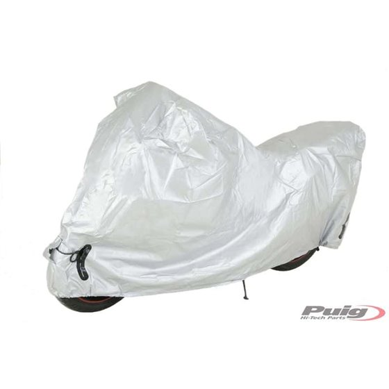 Puig Motorbike Cover Xl-Xxl C/Silver