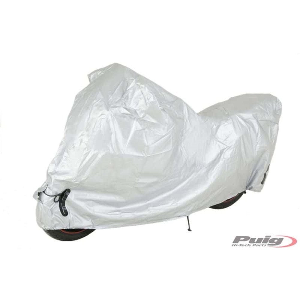 Puig Motorbike Cover S-L C/Silver