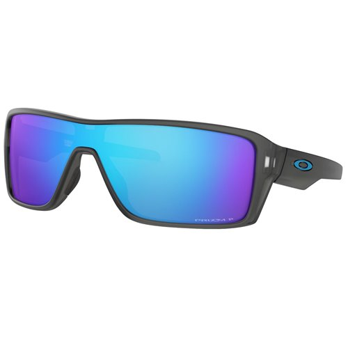 Oakley Sunglasses Ridgeline MttGrySmke w/ PRIZM Sapph Pol