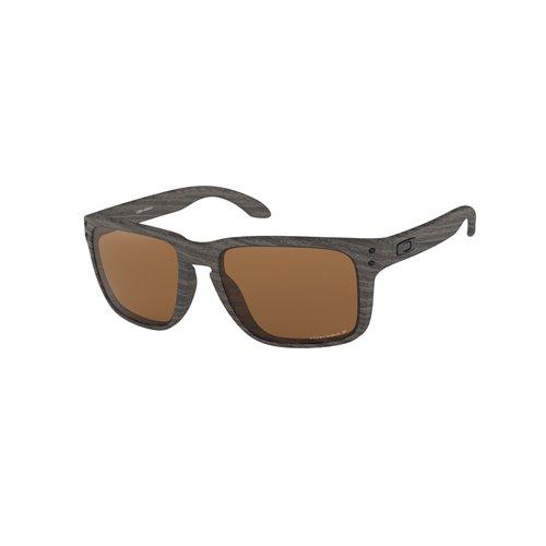 Oakley Holbrook XL sunglasses Woodgrain w/ PRIZMTngstnPol