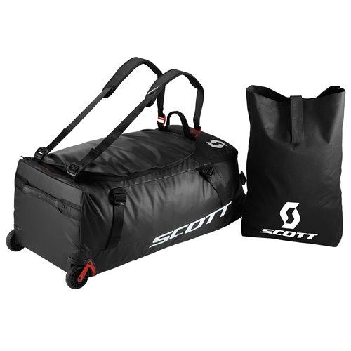SCOTT Bag Wheel Duffle 110 black/red cl 1size
