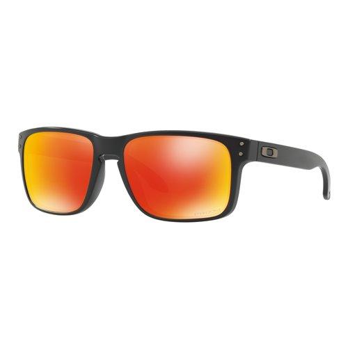 Oakley Sunglasses Holbrook Matte Black w/ PRIZM Ruby