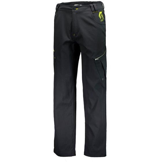 SCOTT Pants Factory Team Support black/sulphur yellow 2XL