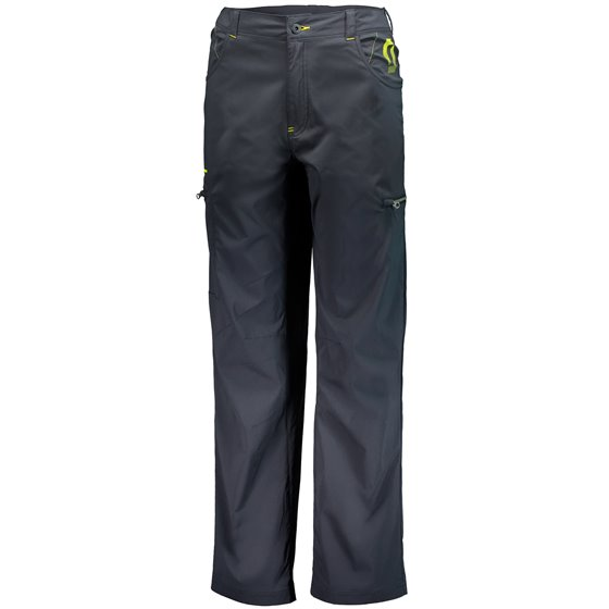 SCOTT Pants Factory Team Light black/sulphur yellow 2XL