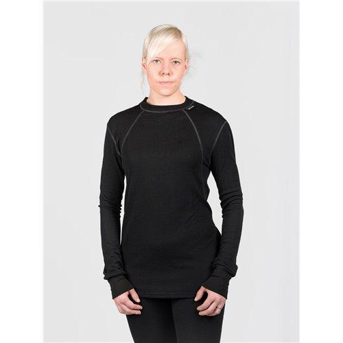 SVALA Shirt Merino O-Neck black S