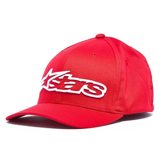 Alpinestars Cap Blaze Flexfit red/white S/M