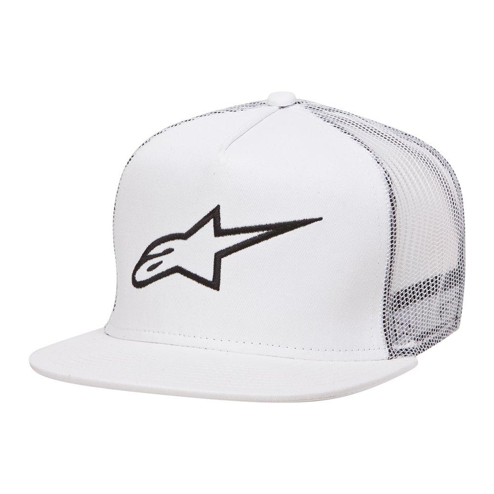 Alpinestars Corp Trucker Cap white one size