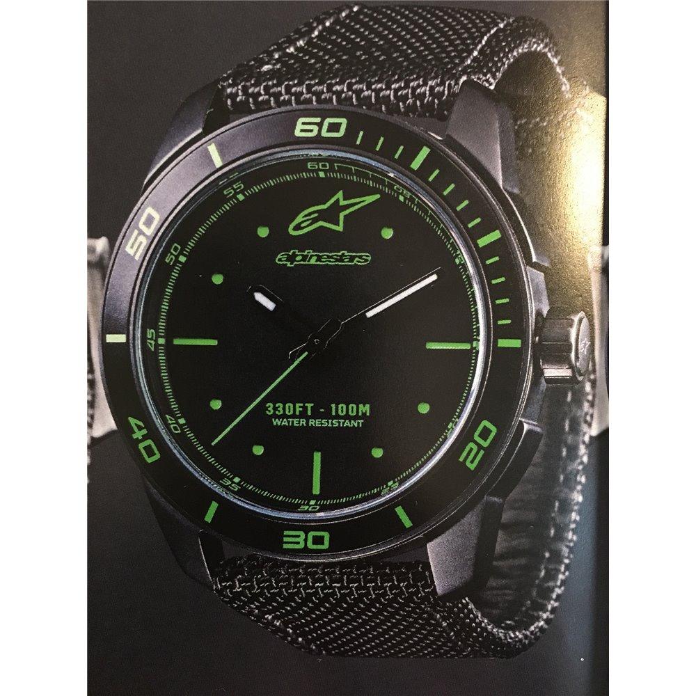Alpinestars Tech Watch 3H Black Nylonstrap