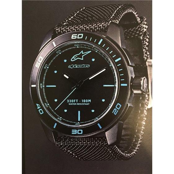 Alpinestars Tech Watch 3H Black-Black Nylonstrap