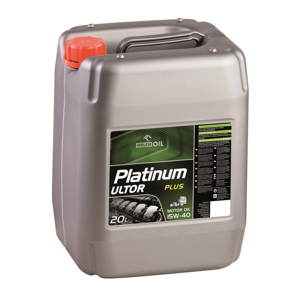 Orlen Oil Platinum Ultor Plus 15W-40 20L