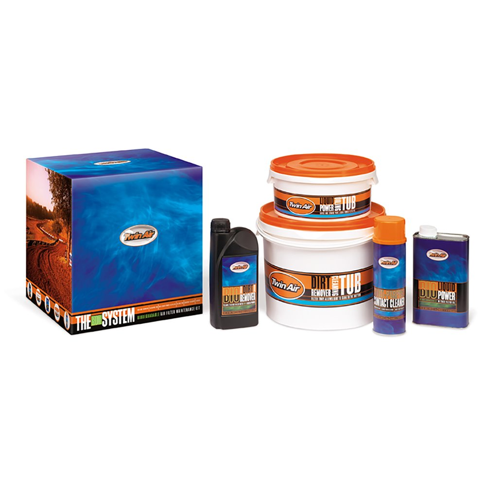 Twin Air system Bio (Complete Air Filter Maintenance Kit, Bio) (IMO)