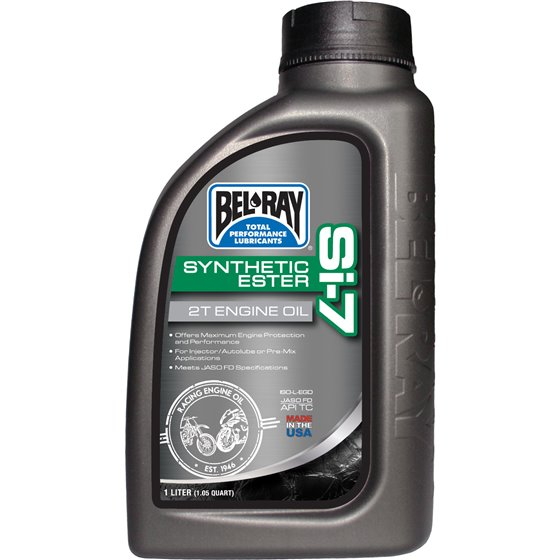 Bel-Ray Si-7 Synthetic 2T Engine Oil 1L