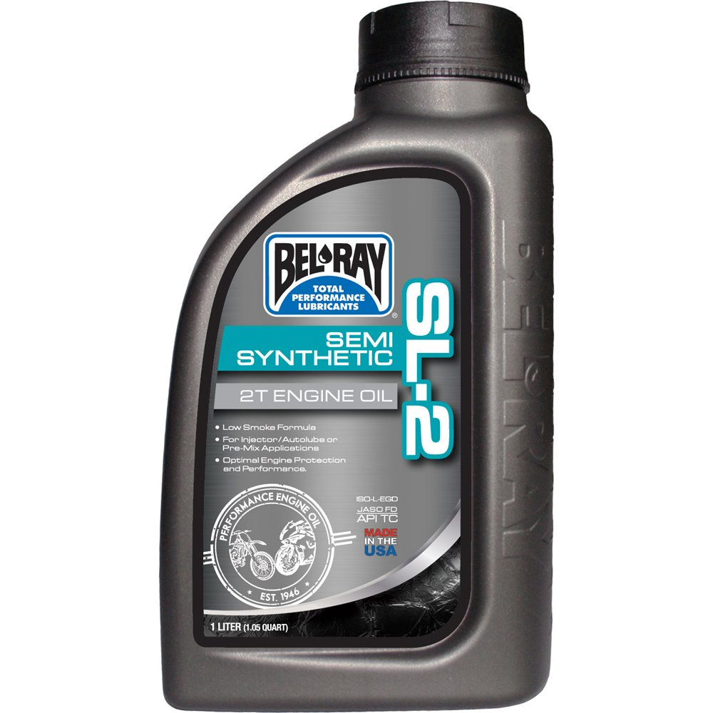 Bel-Ray SL-2 Semi-Synthetic 2T Engine Oil 1L